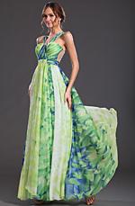 eDressit  Maravilloso Estampado Vestido de Fiesta Largo (00127368)