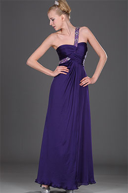 eDressit Elegant Single Shoulder Evening Dress (00108006)