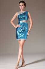 eDressit 2014 New Stylish Deep Sky Blue Round Neck Sleeveless Sequins Party Dress (03140111)