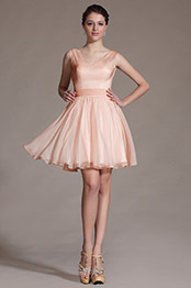 Carlyna 2014 New Lovely Pink Cocktail Dress Party Dress (C07140701)