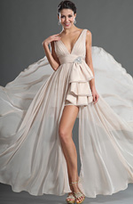 eDressit Maravilloso Escote en V Profundo Vestido de Noche (00127814)