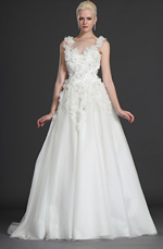 eDressit Graceful Two Straps Wedding Gown (01120207)