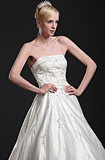 eDressit New Elegant Strapless Wedding Gown (01112013)