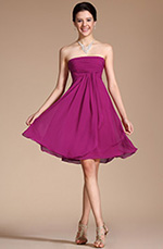 Carlyna 2014 New Arrivals Lovely Strapless Cocktail Dress Party Dress (C04112412)