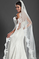 eDressit Gorgeous Lace Wedding Veils (19120113)