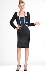eDressit Neu Fashion Schlank Lady Kurz Jacket (03111800)