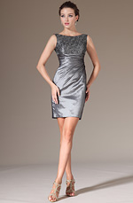 eDressit 2014 New Grey Lace Top Fitted Short Cocktail Dress (04141326)