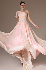 eDressit 2014 New Formal Pink One Shoulder Evening Gown (02143301)