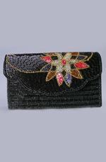 eDressit Schwarze Frauen-Handtasche/Portemonnaie (08141000)
