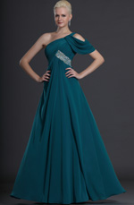 eDressit Grace One shoulder Blue Evening Dress (00125705)