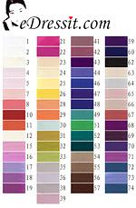 eDressit HCRS-A415 Colour Chart
