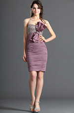 eDressit Strapless Shiny Beadings Cocktail Dress Party Dress (04120501)