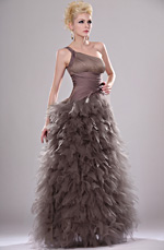 eDressit New Amazing Pleated One Shoulder Prom Gown (00113320)
