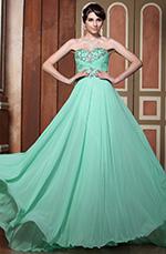 Elegant Light Green Sweetheart Neck Formal Gown Prom Dress (C36143804)