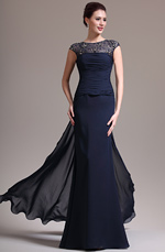 eDressit 2013 New Sexy Round Neck Lace Dark Blue Mother of the Bride Dress (26134705)