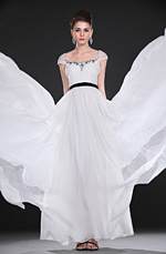 eDressit New Beaded Elegant White Evening Dress (00116707)