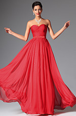 eDressit 2014 New Red Simple Sweetheart Evening Dress Bridesmaid Dress (00148602)