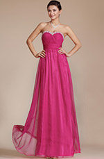 Carlyna 2014 New Charming Hot Pink Sweetheart Evening Dress/Bridesmaid Dress (C36141812)