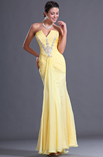 eDressit  Charming Strapless V-cut Neckline Evening Dress (00128203)