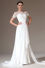 eDressit 2014 New Graceful Overlace Off Shoulder Wedding Gown (01140707)
