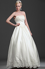 eDressit Graceful Strapless Wedding Gown (01114713)