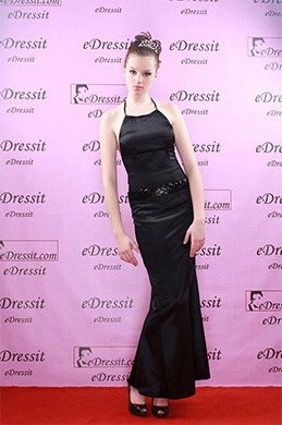 eDressit Black Elegant Prom Gown Evening Dress (00050300)