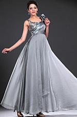 eDressit recien llegodo Maravilloso Gris lentejuelas Largo  Vestido de Noche (00117208)