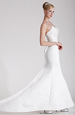 eDressit Charming Fitted Bridal Gown (01101207)