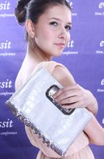 eDressit Half PU Surface Women's Handbag/Purse (08091026)