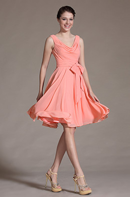 Stylish Sleeveless Knee Length Cocktail Dress Party Dress (C04134201)