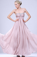 eDressit New Arrival Strapless Beaded Evening Dress (00102746)