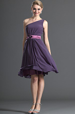 eDressit Amazing One Shoulder Purple Bridesmaid Dress (07120906)