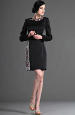 eDressit Fabulous Long Sleeves Cocktail dress/Day Dress (03123500)