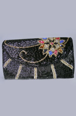 eDressit Women's Black Bag/Purse (08141100)