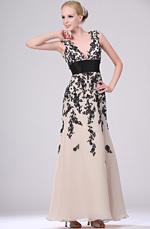 eDressit Wunderbar Aermellos Abendkleid (00110646)