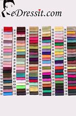 eDressit Satin Farbemuster (37662303A)