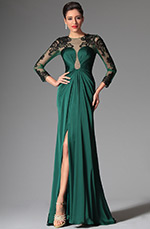 eDressit 2014 New Dark Green Stylish Evening Prom Ball Gown (02148904)