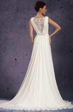 eDressit 2013 New Sexy V-Cut Neckline Delicated Beads Wedding Gown (01130707)