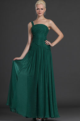eDressit Stylish Green One Shoulder Evening Dress (00125404)