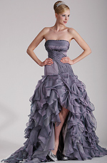 eDressit Stylish Strapless Prom Gown (02100208)