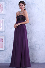 Sweetheart Neck Empire Waistline Top Floral Lace Formal Gown Wedding Guest Dress (C00142306)