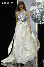 eDressit White Sequins long Belt Sexy Prom Ball Gown Evening Dress (00880107)