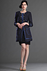 eDressit Fashion Long Jacket With Sleeves Day Coat (03123105)