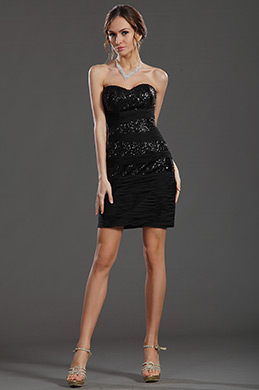 eDressit Sexy Sequined Black Cocktail Dress (35130100)