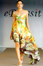 eDressit Sexy Asymmetrical Floral Evening Dress (00099468)