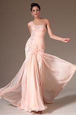 eDressit 2014 Nouveauté Superbe Rose Une Epaule Robe de Soirée (00143901)