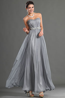 eDressit Fantastic Grey Sweetheart Evening Dress (02122108)