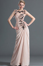 eDressit Stylish Elegant Sleeveless Lace Evening Dress (00122201)