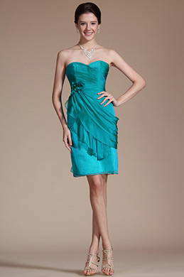 Sweatheart Formfitting Cocktail Dress/Party Dress/Bridesmaid Dress (C35141105)