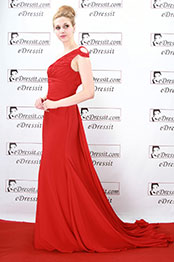 eDressit Katherine Heigl Red Evening Dress Prom Gown (00080602)